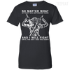 Fight Till the End Ladies Tee-Apparel-TEEPEAT