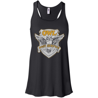 Harry Potter Owl Postal Ladies Tee-Apparel-TEEPEAT