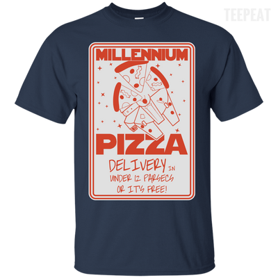 Millennium Pizza Tee-Apparel-TEEPEAT