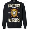 Quidditch Gryffindor Team Tee-Apparel-TEEPEAT