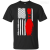 USA Flag Bowling Tee-Apparel-TEEPEAT