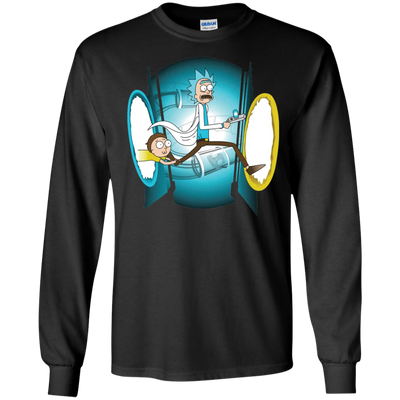 Rick and Morty Time Travel Tee-Apparel-TEEPEAT