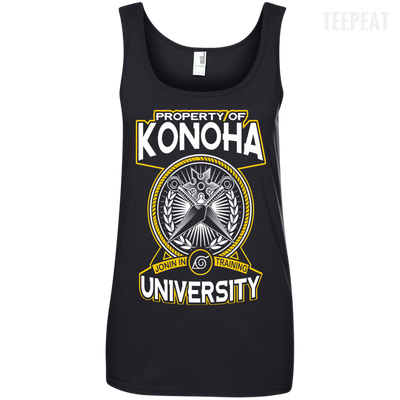 University of Konoha Ladies Tee-Apparel-TEEPEAT