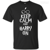 Keep Clam And Harry On Tee-Apparel-TEEPEAT