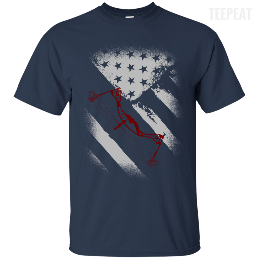 USA Flag Bow Hunter Tee
