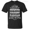 God Red Wine Tee-Apparel-TEEPEAT