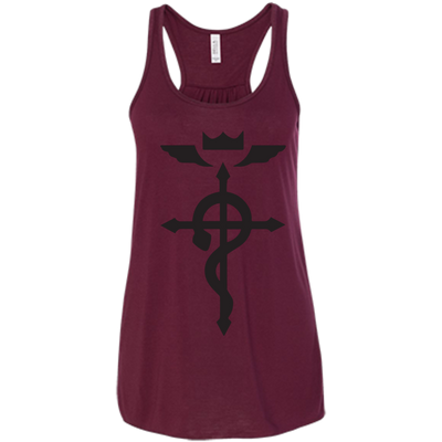 Full Metal Alchemist Brotherhood Logo Ladies Tee-Apparel-TEEPEAT