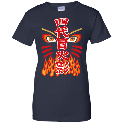 Naruto Hokage Ladies Tee-Apparel-TEEPEAT