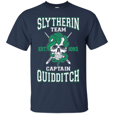 Quidditch Slytherin Team Tee-Apparel-TEEPEAT