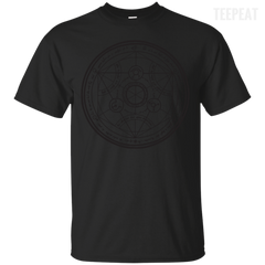 Full Metal Alchemist Transmutation Circle Tee