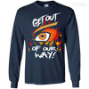 Get Out Of Our Way Tee-Apparel-TEEPEAT