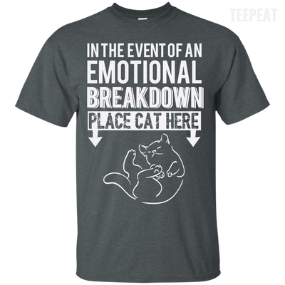 Place Cat Here Tee-Apparel-TEEPEAT