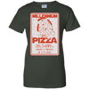 Millennium Pizza Ladies Tee-Apparel-TEEPEAT