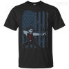 Hawkeye US Flag Tee-Apparel-TEEPEAT