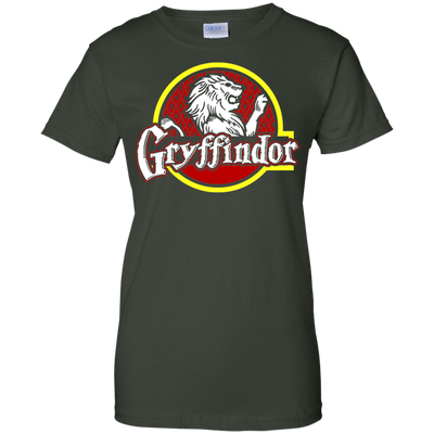 Harry Potter Gryffindor Ladies Tee-Apparel-TEEPEAT