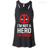 Im Not a Hero Ladies Tee-Apparel-TEEPEAT