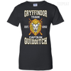 Quidditch Gryffindor Team Ladies Tee-Apparel-TEEPEAT