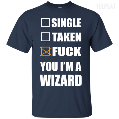 I Am A Wizard Tee-Apparel-TEEPEAT