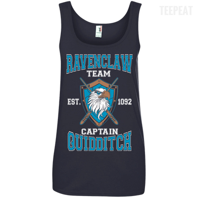 Quidditch Ravenclaw Team Ladies Tee-Apparel-TEEPEAT