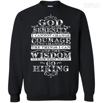 God Hiking Tee-Apparel-TEEPEAT
