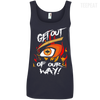 Get Out Of Our Way Ladies Tee-Apparel-TEEPEAT