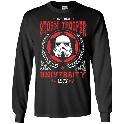Storm Trooper University Tee-Apparel-TEEPEAT