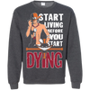 Start Living Tee-Apparel-TEEPEAT