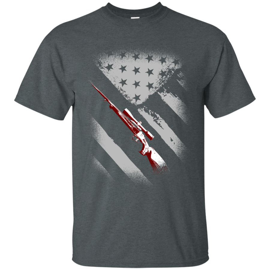 USA Flag Hunter Tee