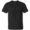 Full Metal Alchemist Brotherhood Logo Tee-Apparel-TEEPEAT
