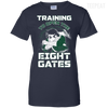Rock Lee Training Eight Gates Ladies Tee-Apparel-TEEPEAT