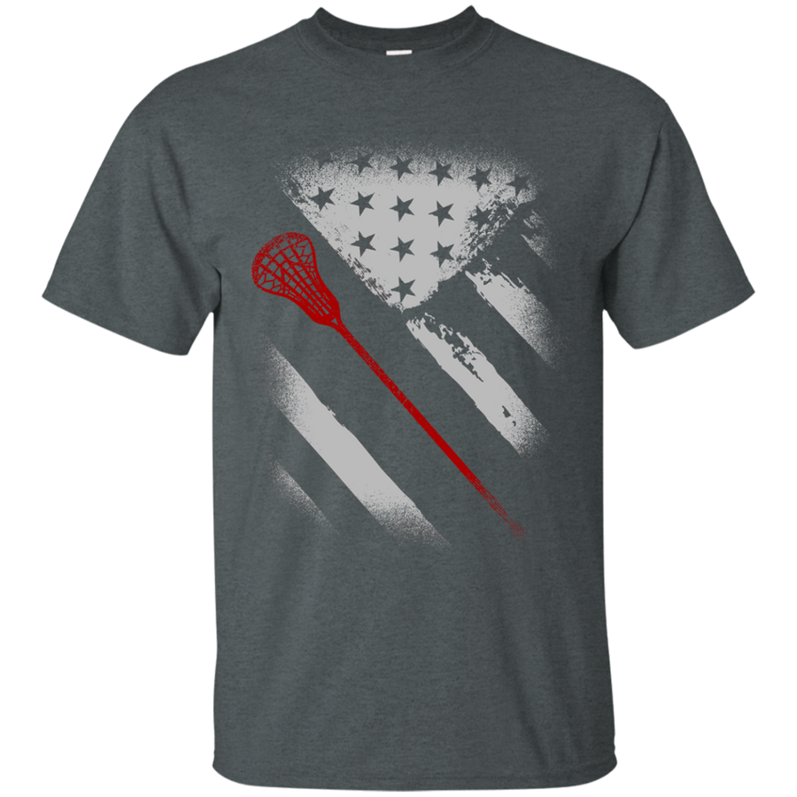 USA Flag Lacross Tee