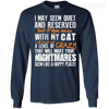 If You Mess With My Cat Tee-Apparel-TEEPEAT
