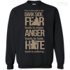 Fear Anger Hate Tee-Apparel-TEEPEAT
