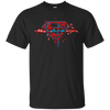 Superman Pulse Dark Tee-Apparel-TEEPEAT