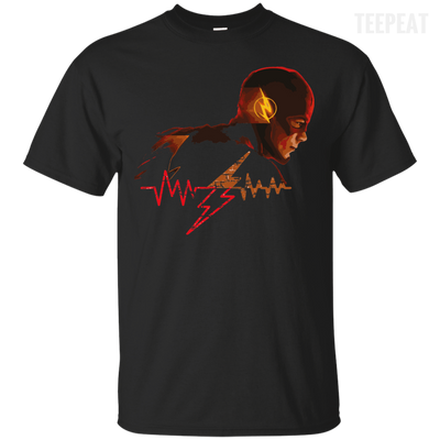 Flash Pulse Dark Tee-Apparel-TEEPEAT