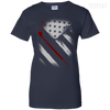 USA Flag Hockey Ladies Tee-Apparel-TEEPEAT