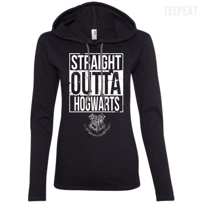 Harry Potter Hogwarts Ladies Tee-Apparel-TEEPEAT