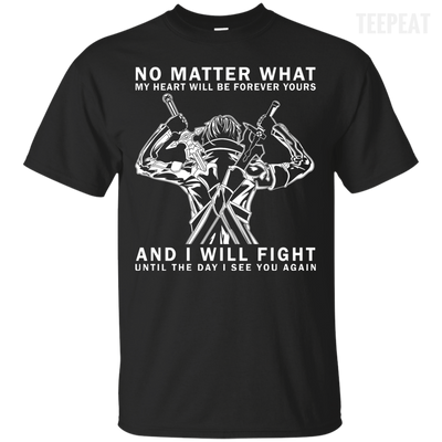 Fight Till the End Tee-Apparel-TEEPEAT