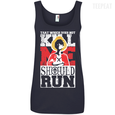 One Piece Kill Me Ladies Tee-Apparel-TEEPEAT