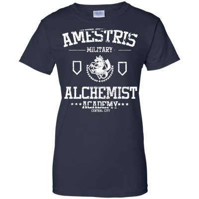 Full Metal Alchemist Academy Ladies Tee-Apparel-TEEPEAT