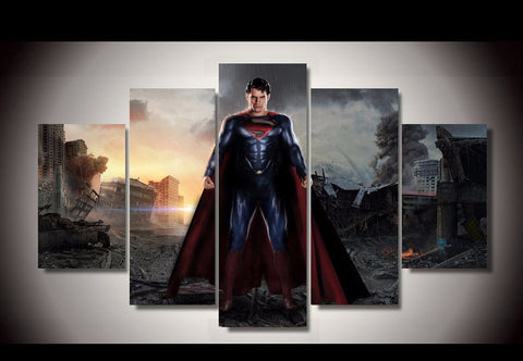 S-man - 5 Piece Canvas LIMITED EDITION - The Nerd Cave