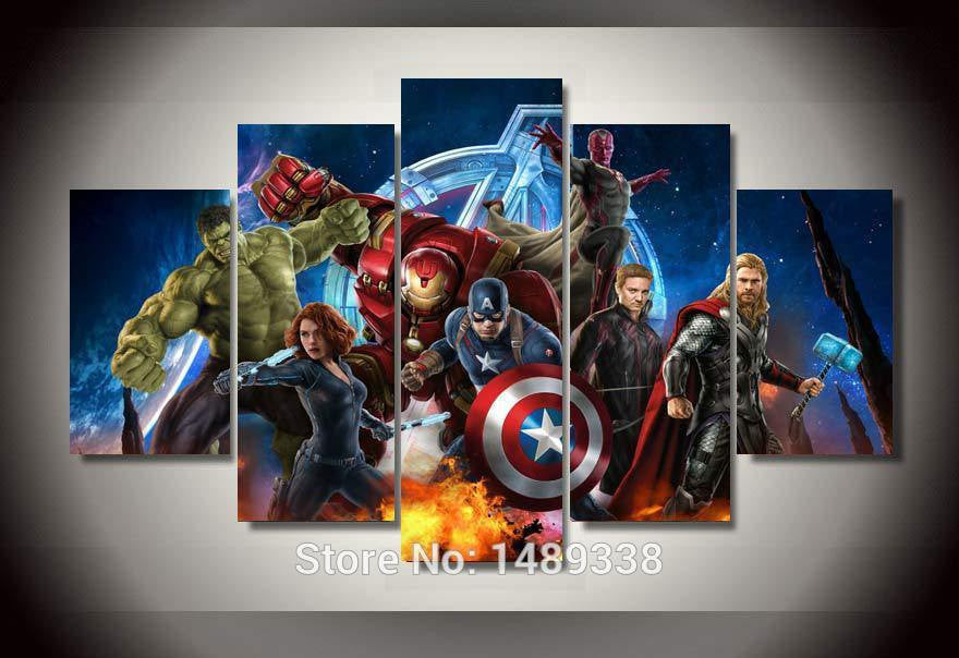 Avengers Multiple Piece Canvas LIMITED EDITION - The Nerd Cave