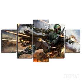 Hunter Painting - 5 Piece Canvas-Canvas-TEEPEAT