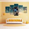 Iron man - 5 Piece Canvas LIMITED EDITION - The Nerd Cave - 1