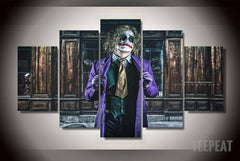 The Joker Painting - 5 Piece Canvas LIMITED EDITION