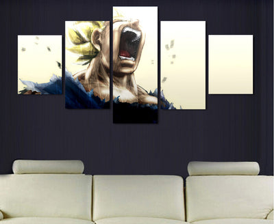 Dragon Ball Z - Super Saiyan 5 Piece Canvas LIMITED EDITION - The Nerd Cave - 4