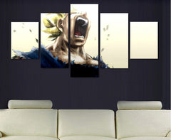 Super Saiyan Painting - 5 Piece Canvas