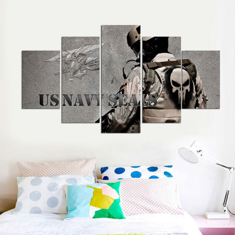 US Navy - 5 Piece Canvas Painting