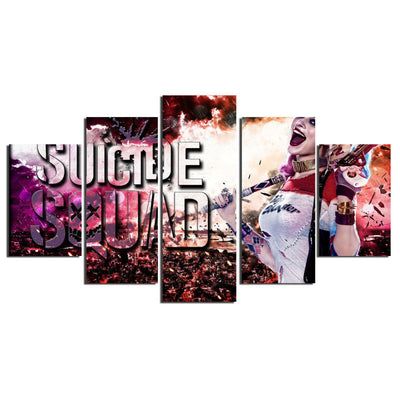 Suicide Harley V2 - 5 Piece Canvas Painting-Canvas-TEEPEAT