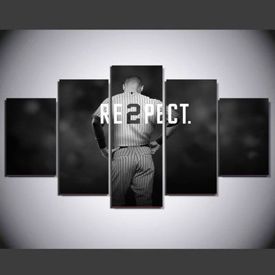Re2pect Painting - 5 Piece Canvas-Canvas-TEEPEAT